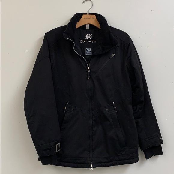 Obermeyer Jackets & Blazers - Obermeyer Black Winter Coat Women's Size 10